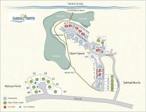 Sahhali Lots Map