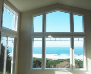 Ocean view home on Oregon Coast